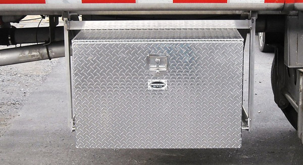 Truck Tool Boxes with Open Sides